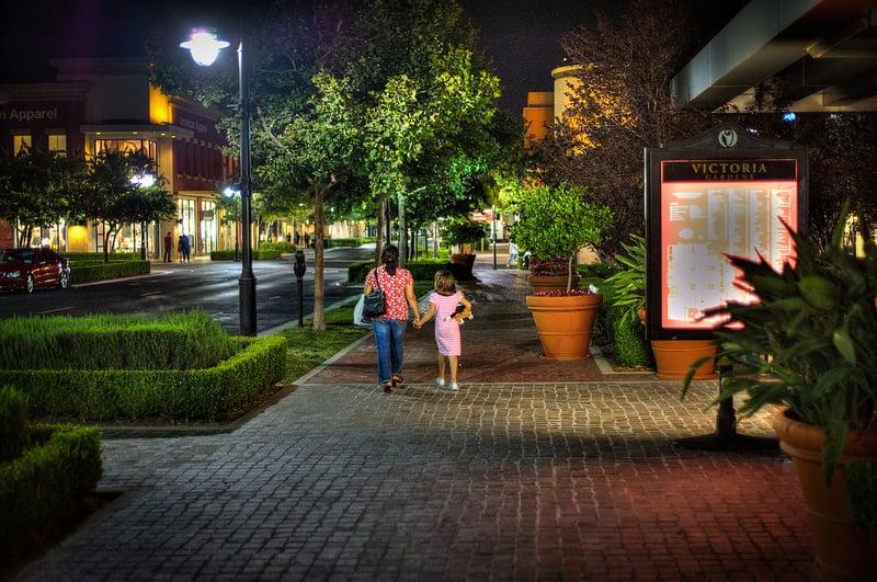 Victoria Gardens At Night Yelp