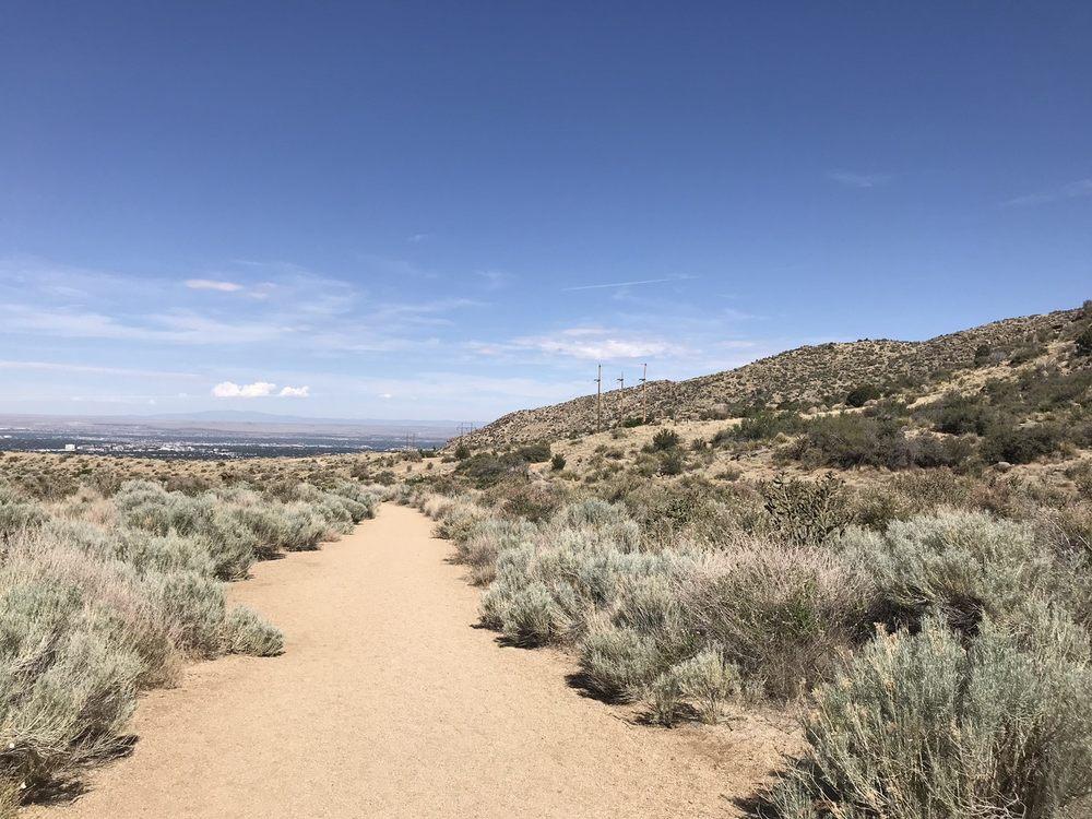Embudo Canyon Trailhead: 15000 Indian School Rd NE, Albuquerque, NM