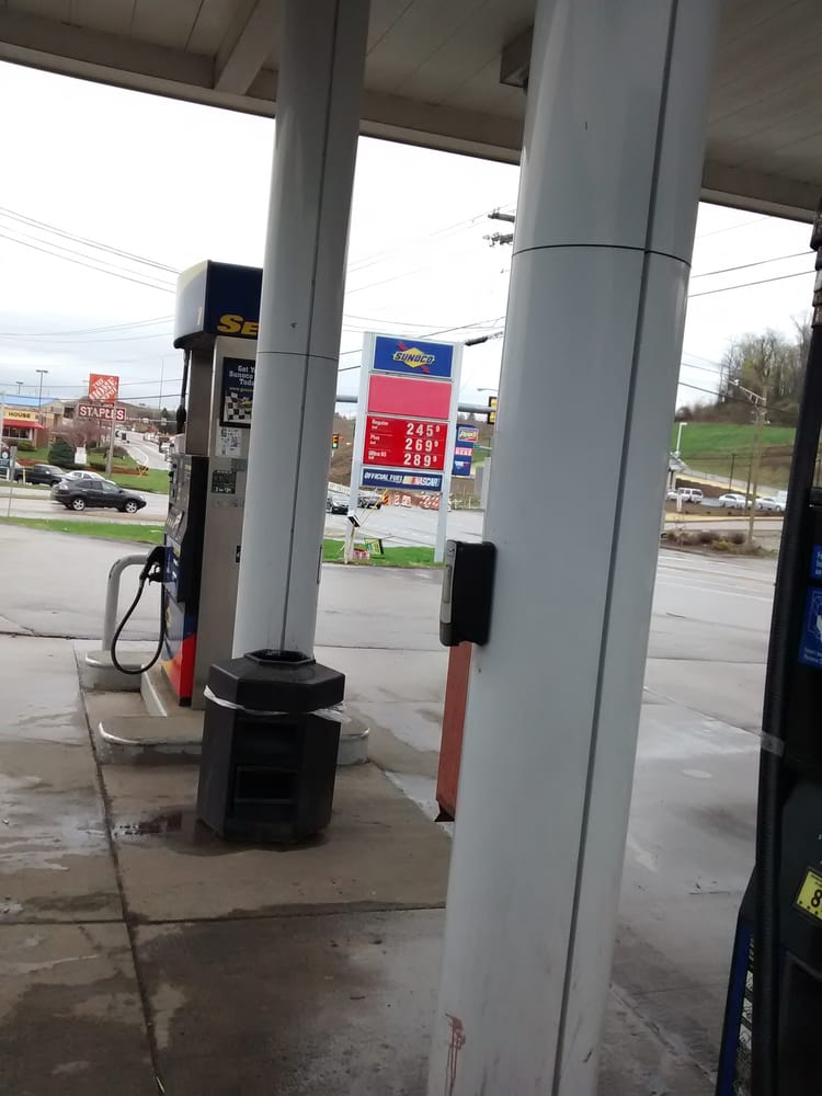 Sunoco Gas Station: 195 Murtland Ave, Washington, PA