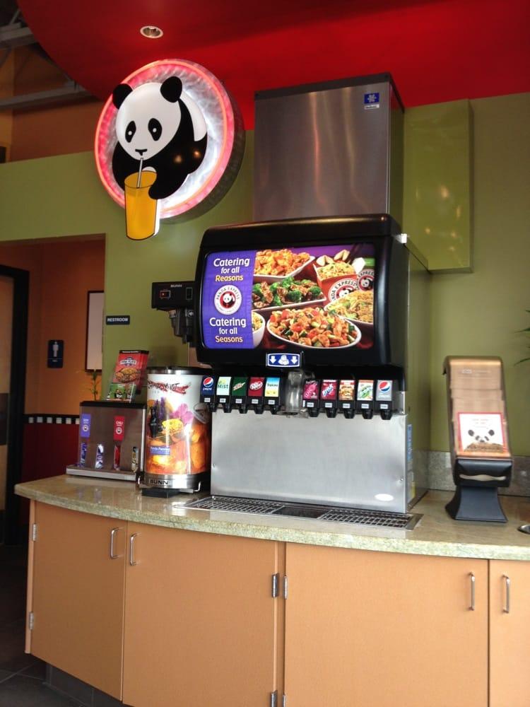Soda Machine At Panda Express Yelp