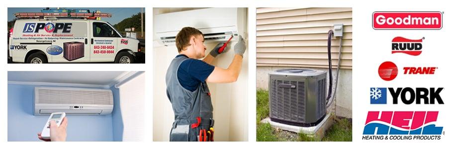 JS Pope Heating & Air: 4160 N Fraser St, Georgetown, SC