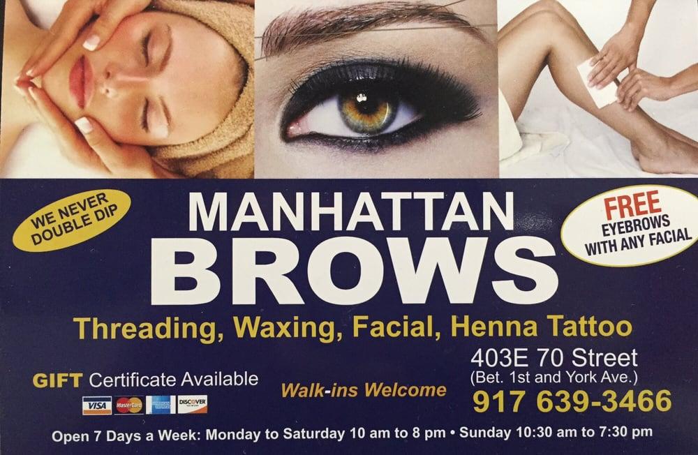 Manhattan Brows 17 Reviews Hair Removal 403 E 70th St Upper