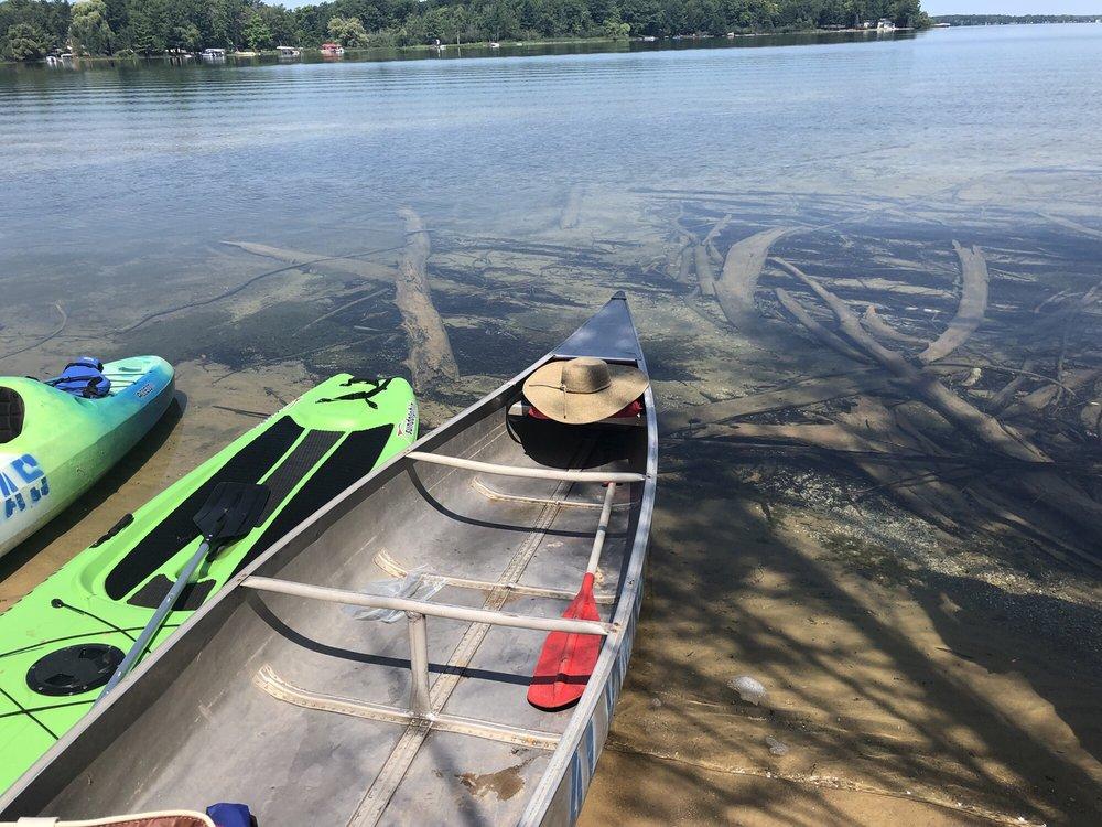 Alvina's Canoe & Boat Rentals: 6470 S Betsie River Rd, Interlochen, MI