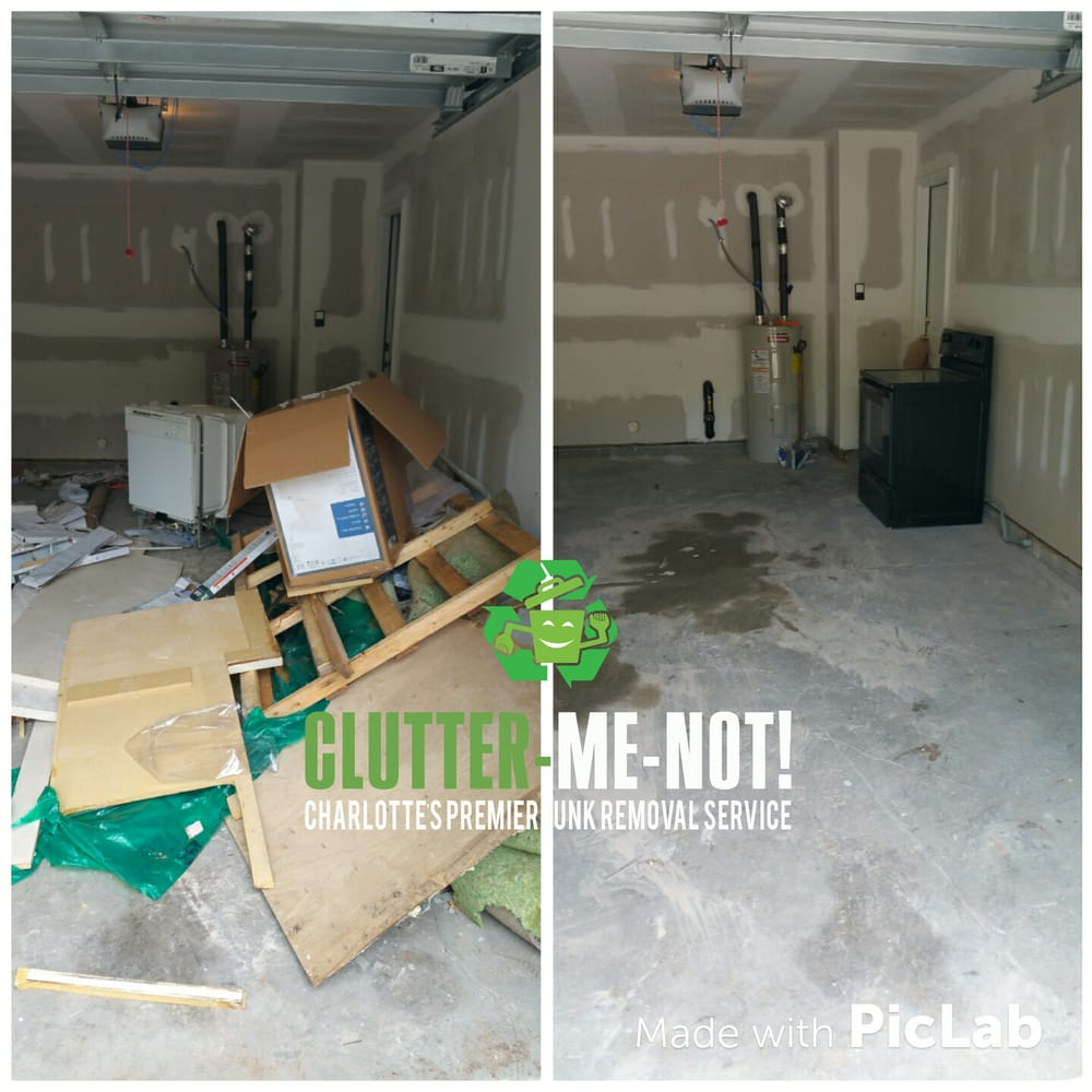Clutter-Me-Not! Junk Removal: 9520 Covedale Dr, Charlotte, NC