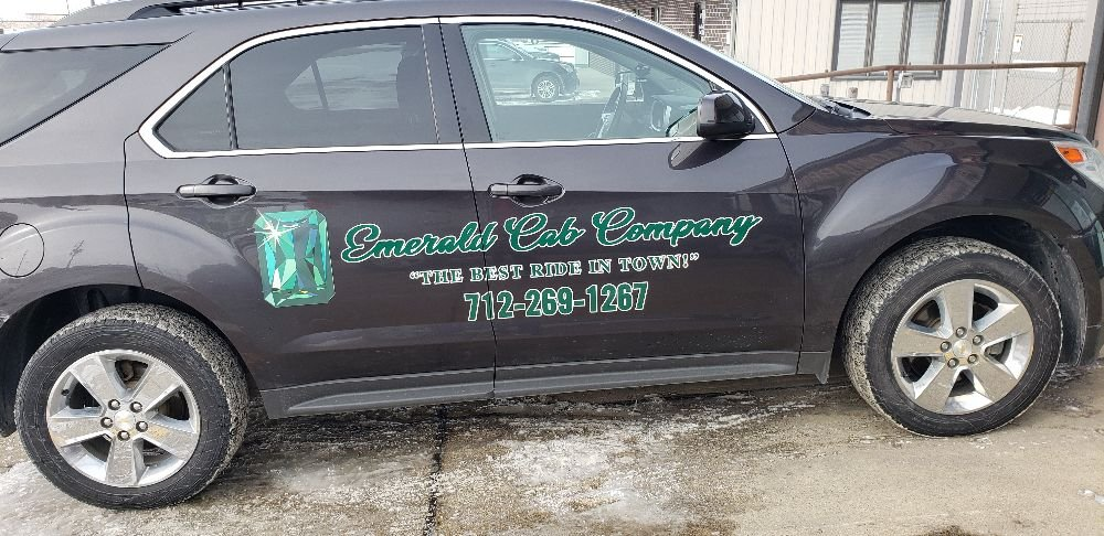 Emerald Cab: 2541 Donna Reed Rd, Denison, IA