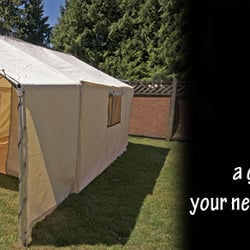 Photo of Northwest Shelters - Surrey BC Canada. 10x12 canvas wall tent & Northwest Shelters - Outdoor Gear - 8236 128th Street Surrey BC ...