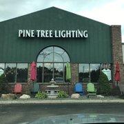 Photo Of Pine Tree Lighting Lake Orion Mi United States