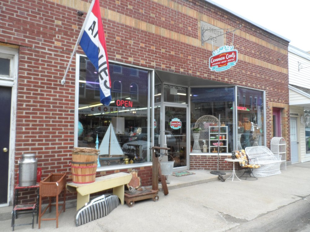 Common Cents Resale: 136 N Main St, Elizabeth, IL