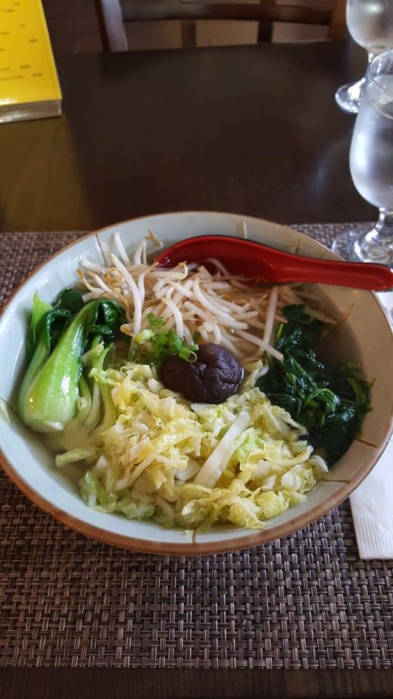 Veggie udon noodle soup yelp for Aoi japanese cuisine newport
