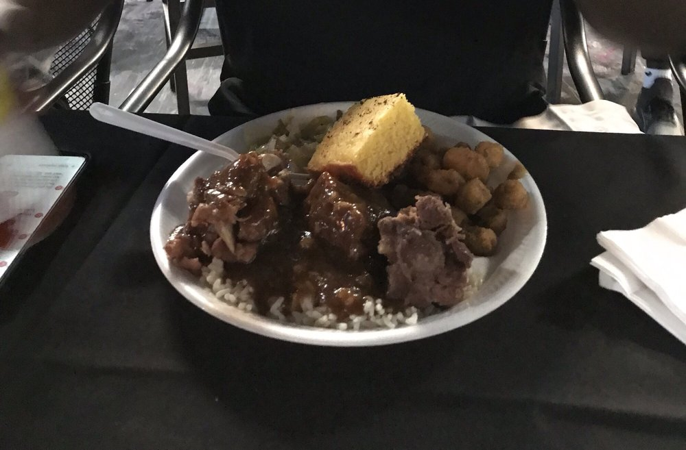 Food from Tasty soul food & Bar