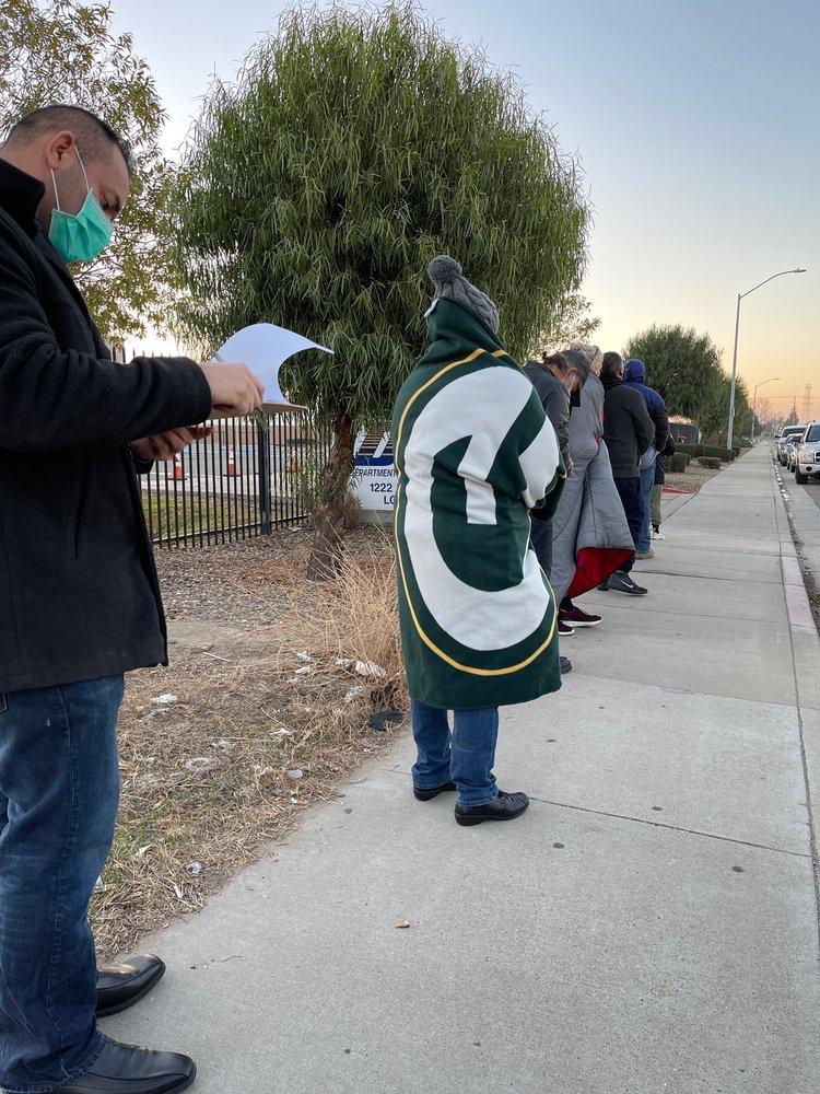 DMV: 1222 Pixley Pkwy, Lodi, CA