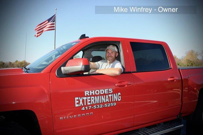 Rhodes Exterminating: 15000 Edison Rd, Lebanon, MO