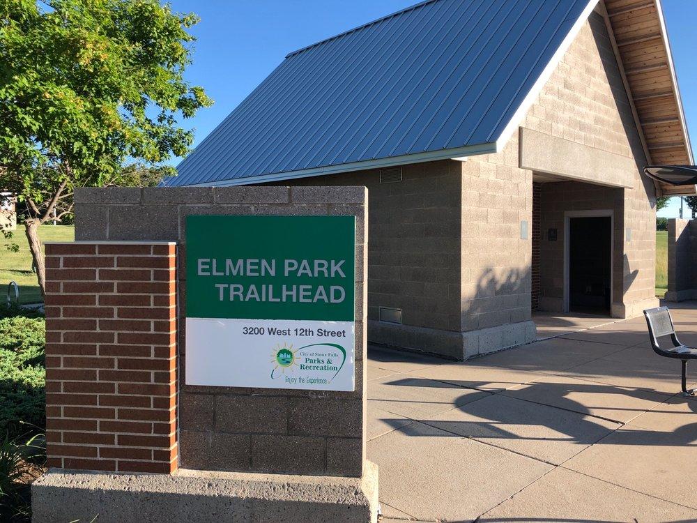 Elmen Park Trailhead: 3200 W 12th St, Sioux Falls, SD