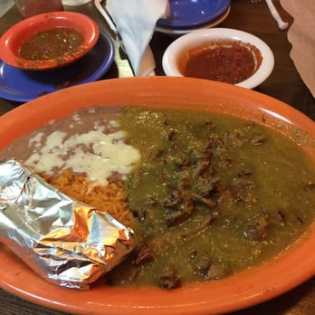 Photo Of La Fuente Mexican Restaurant Independence Mo United States Chili Verde