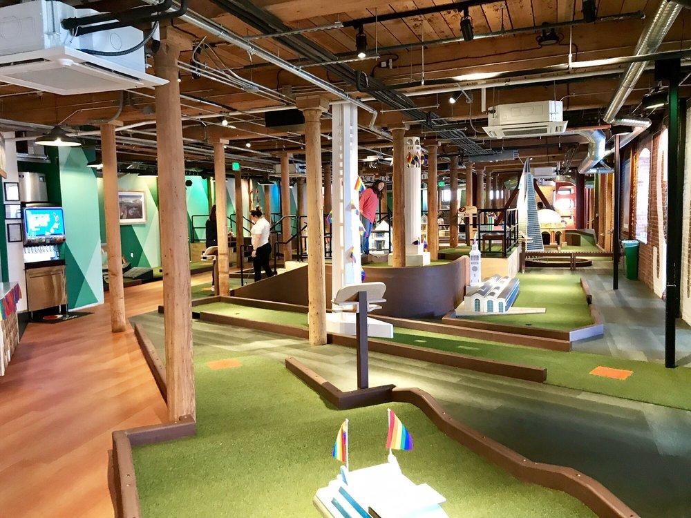 Subpar Miniature Golf: 900 North Point St, San Francisco, CA