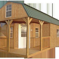 Photo Of Mike S Portable Buildings Lampasas Tx United States Wraparound Lofted Barn