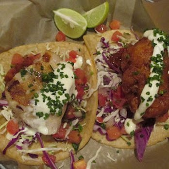 Grilled Red Snapper Tacos Recipe — Dishmaps