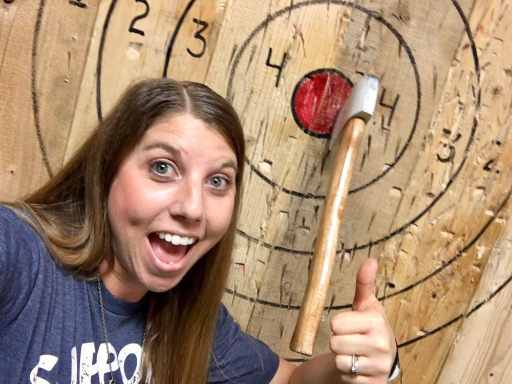 Axem Axe Throwing: 420 N Azusa Ave, West Covina, CA