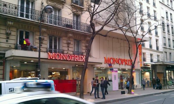 monoprix grocery 13 ave secr tan la villette paris france phone number yelp. Black Bedroom Furniture Sets. Home Design Ideas
