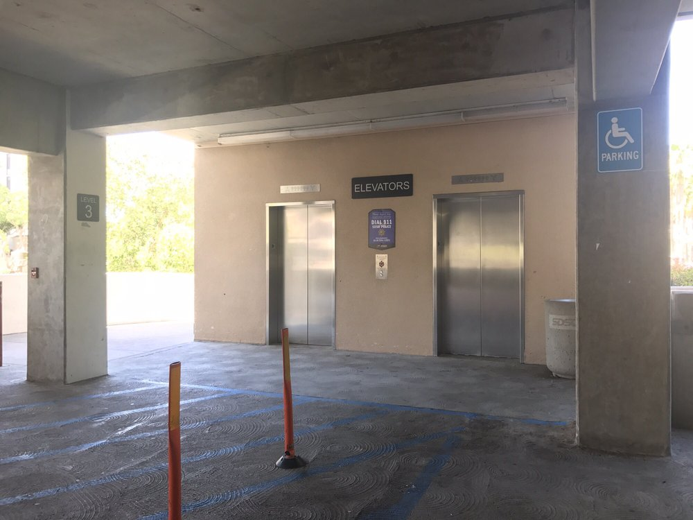 Parking Structure 3: 5500 Campanile Dr, San Diego, CA