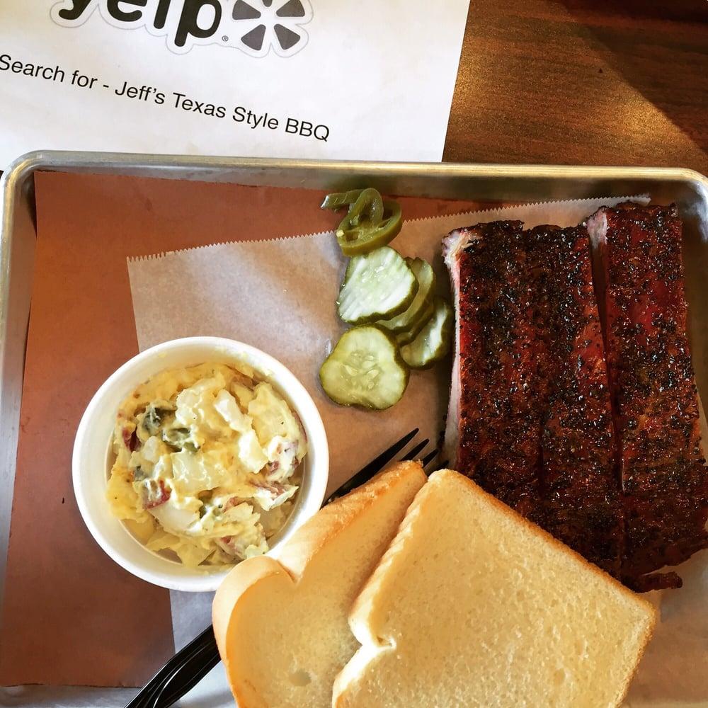 Jeff's Texas Style BBQ: 9214 State Ave, Marysville, WA