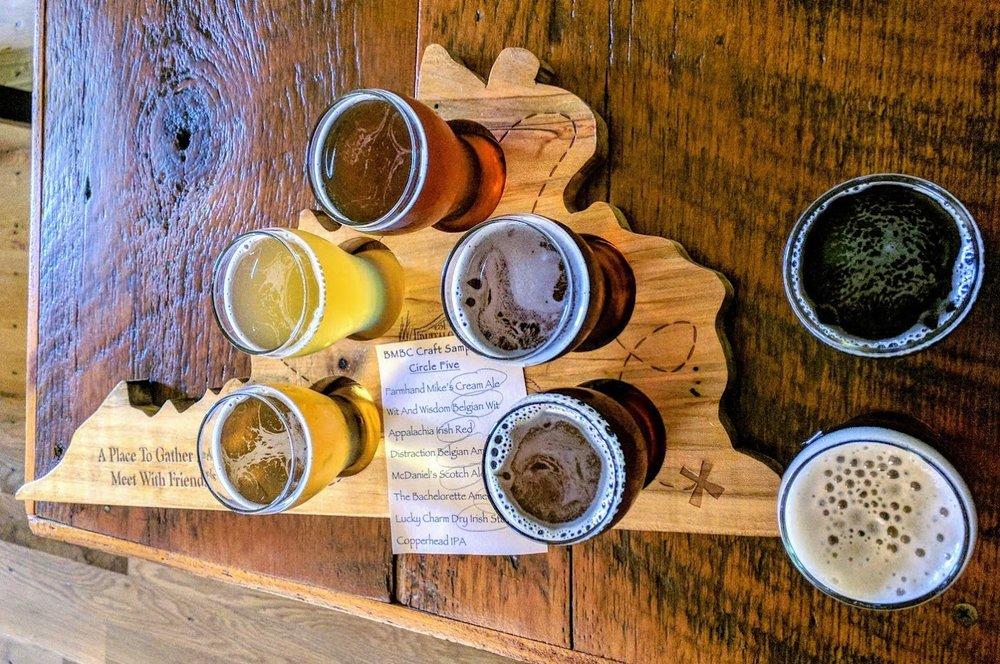Buffalo Mountain Brewing: 332 Webbs Mill Rd N, Floyd, VA