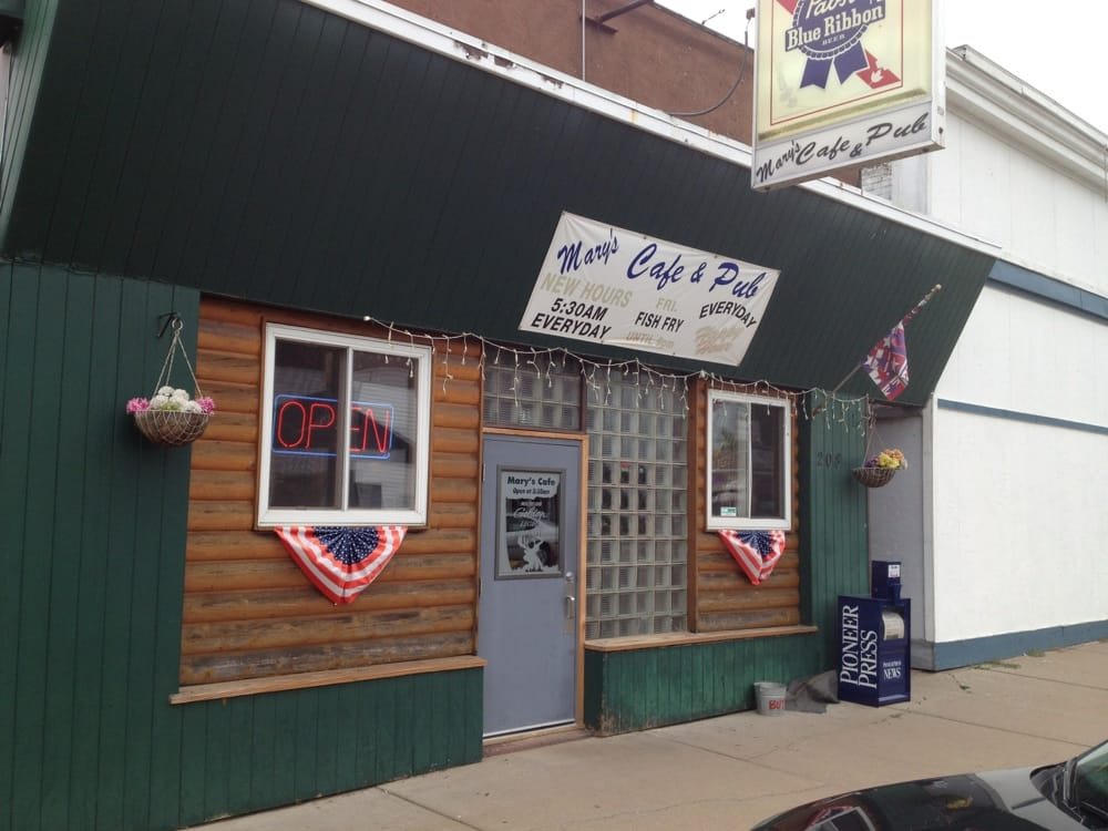Mary's Cafe & Pub: 208 Knapp St, Chetek, WI