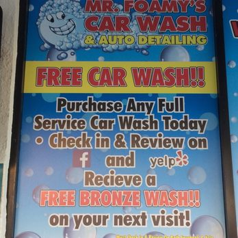 Mr Foamy Car Wash