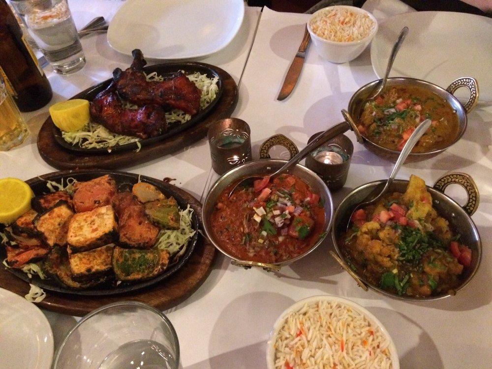 Tandoori Chicken Tandoori Paneer Chicken Tikka Masala Aloo Golbi