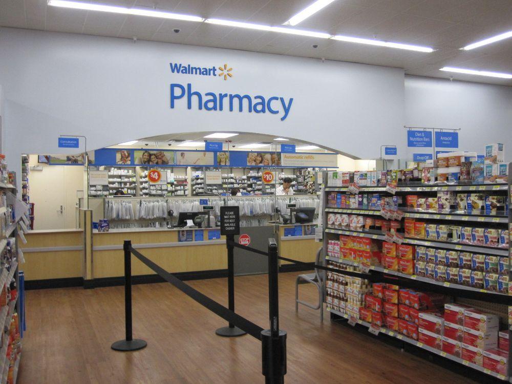 Walmart Pharmacy: 1004 W Ocean Blvd, Los Fresnos, TX