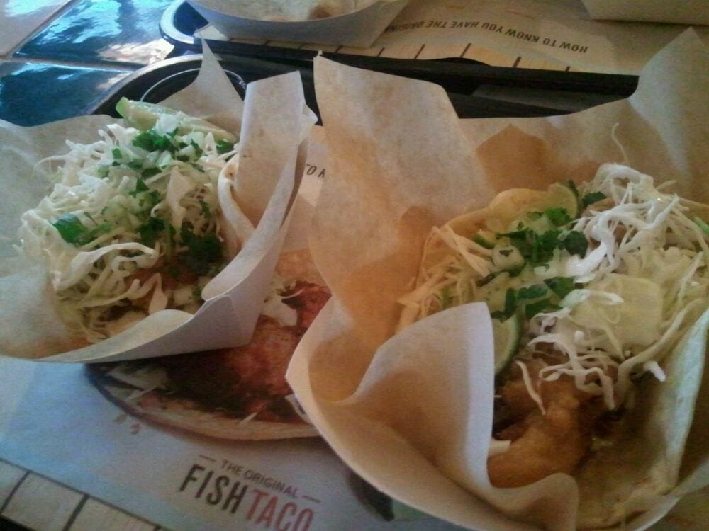 Fish tacos on taco tuesday yelp for Rubios fish taco tuesday