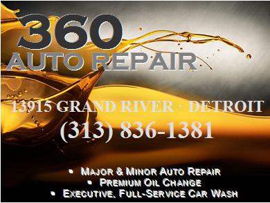 360 Auto Repair, Oil & Wash
