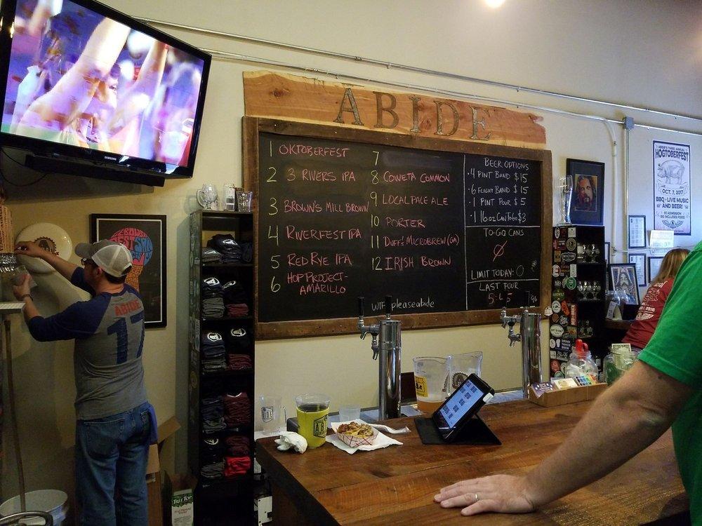 Abide Brewing Company: 110 Werz Industrial Blvd, Newnan, GA