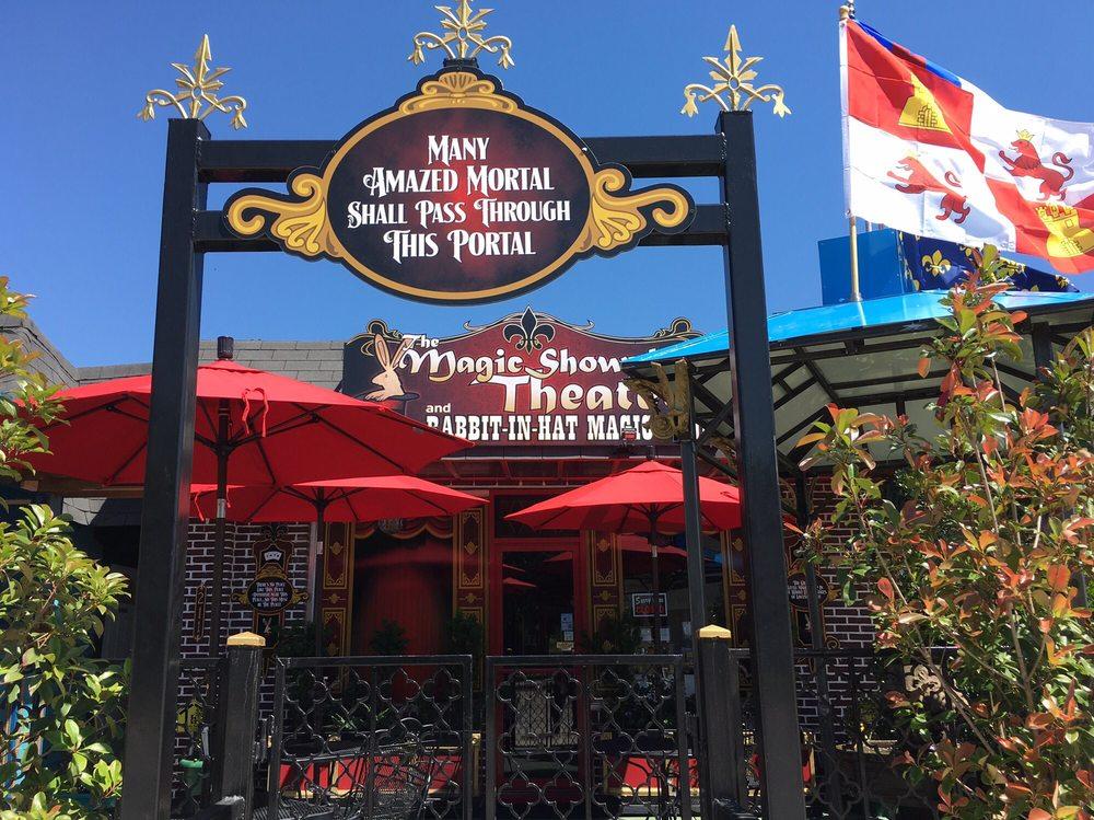 The Magic Showplace Theater & Rabbit-in-Hat Magic Shop: 211 E Main St, Locust Grove, OK