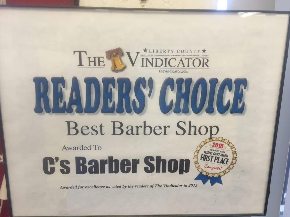 C's Barber Shop: 305 N Main St, Dayton, TX