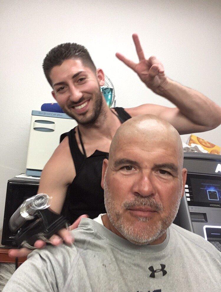 Full Beard Trim And Straight Razor Head Shave Bigen Color Clip Fail