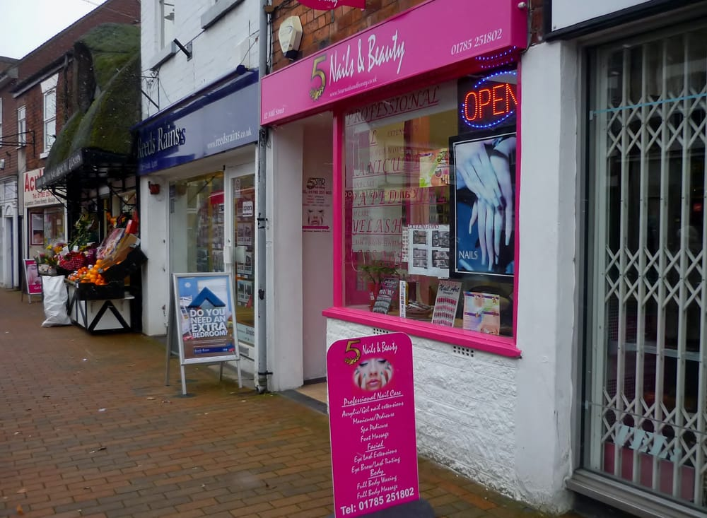 5 Star Nails and Beauty - Nail Salons - 12 Mill Street, Stafford ...