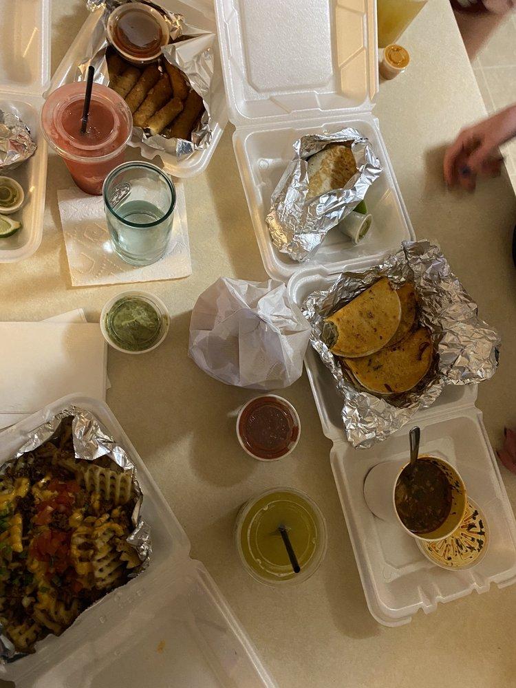 Food from Centro Taco Bar
