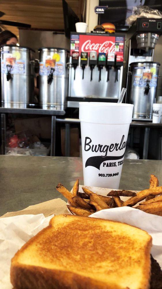 Burgerland: 1301 N Main St, Paris, TX