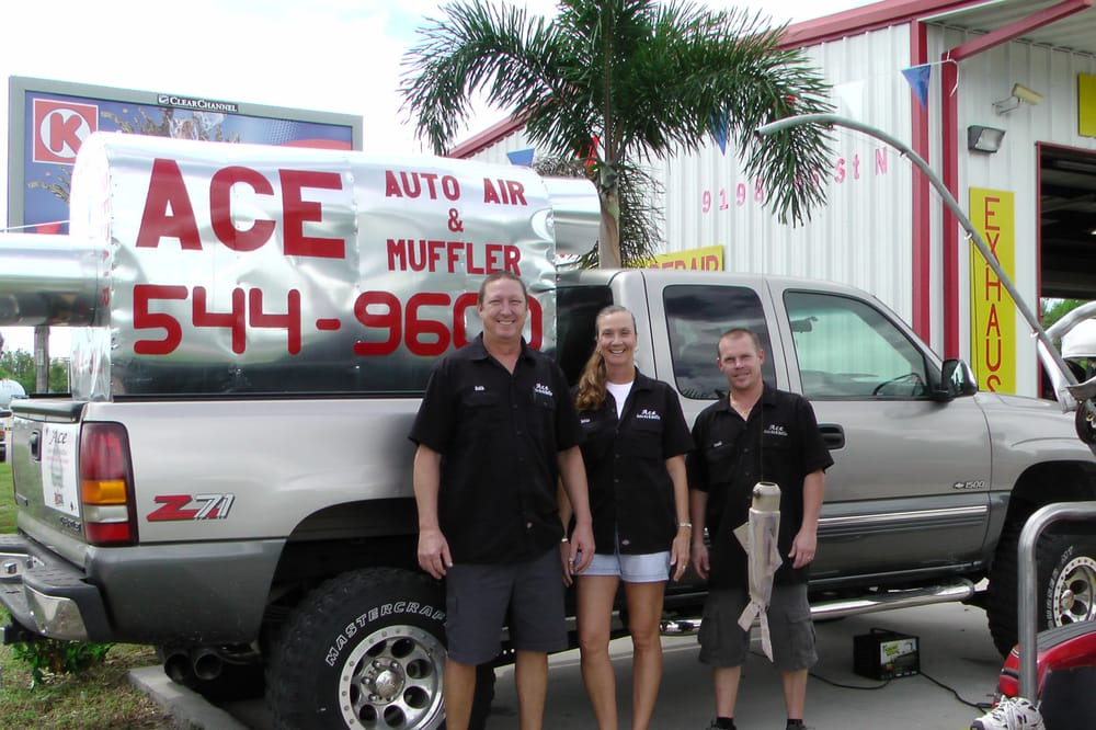 Ace Auto Air & Muffler: 9198 66th St N, Pinellas Park, FL