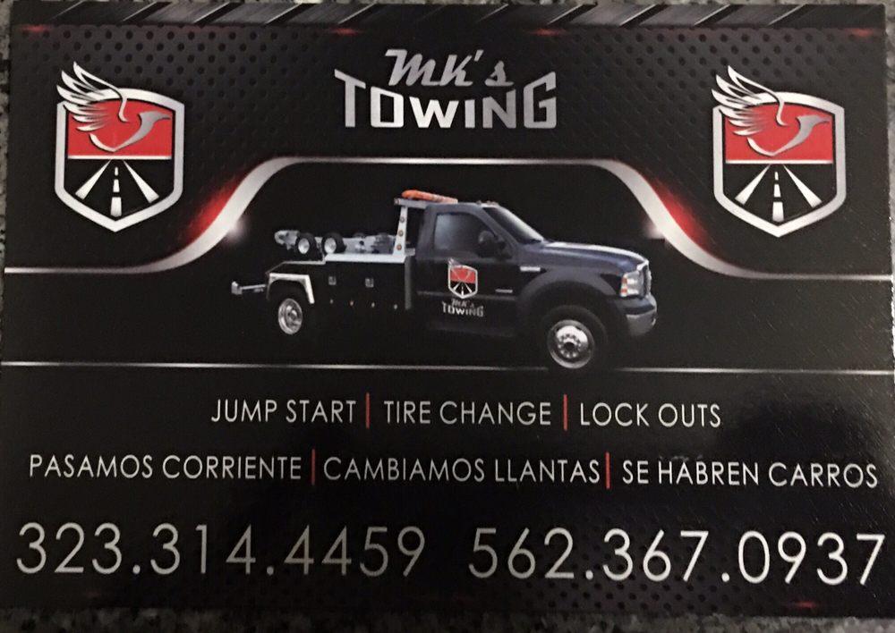 Mk's Towing: Bellflower, CA