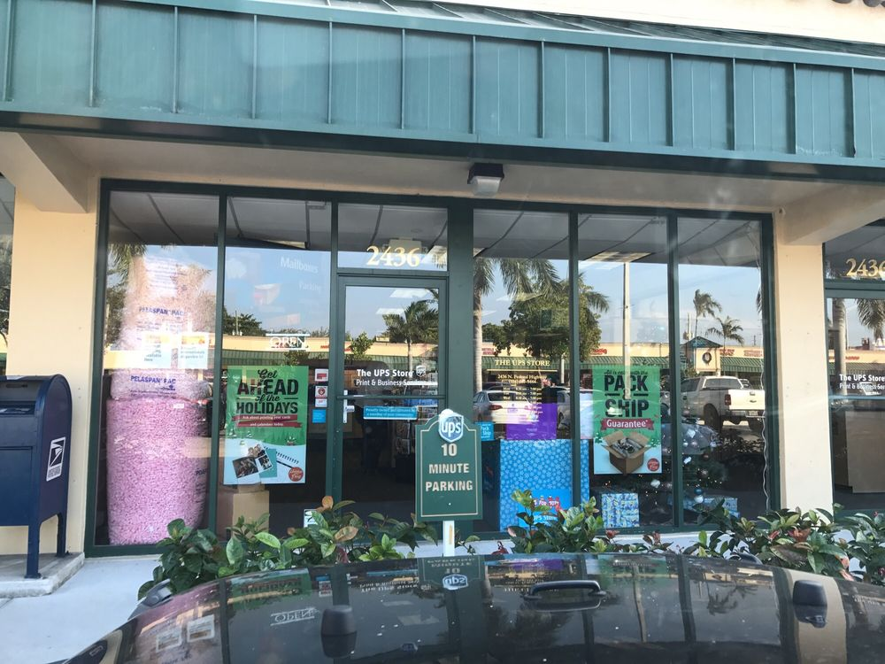 The UPS Store: 2436 N. Federal Hwy, Lighthouse Point, FL