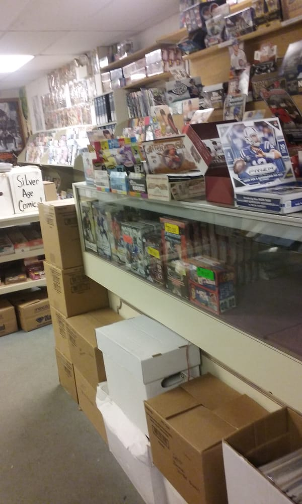 Comic Book Palace: 620 Primrose St, Haverhill, MA