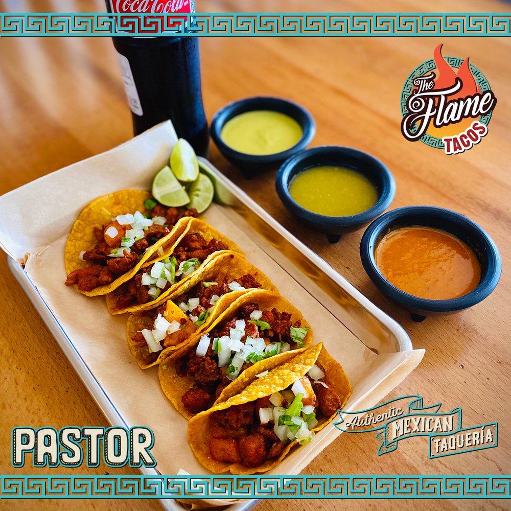 The Flame Tacos: 3138 Nasa Pkwy, Seabrook, TX