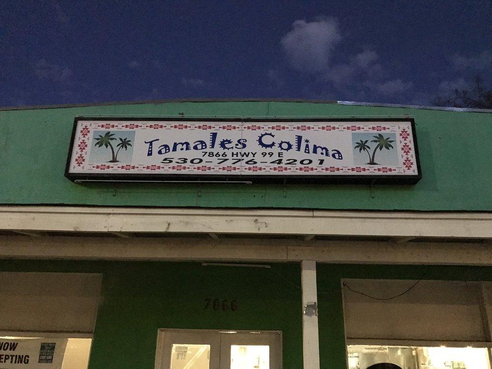 Tamales Colima: 7866 Hwy 99 E, Los Molinos, CA