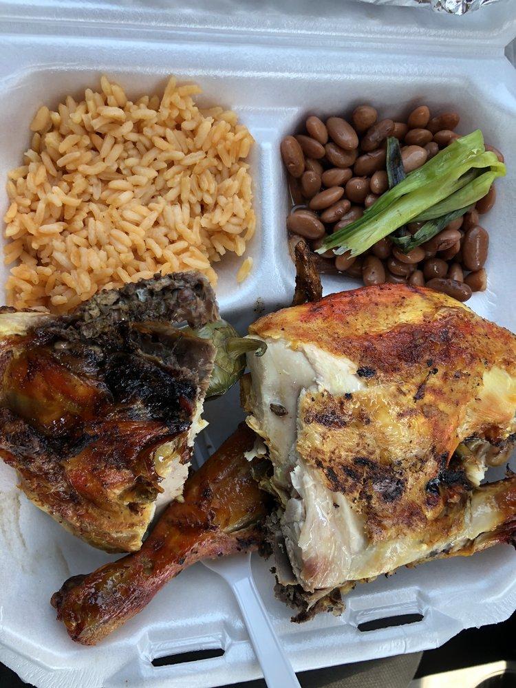 Food from Pollo Azado