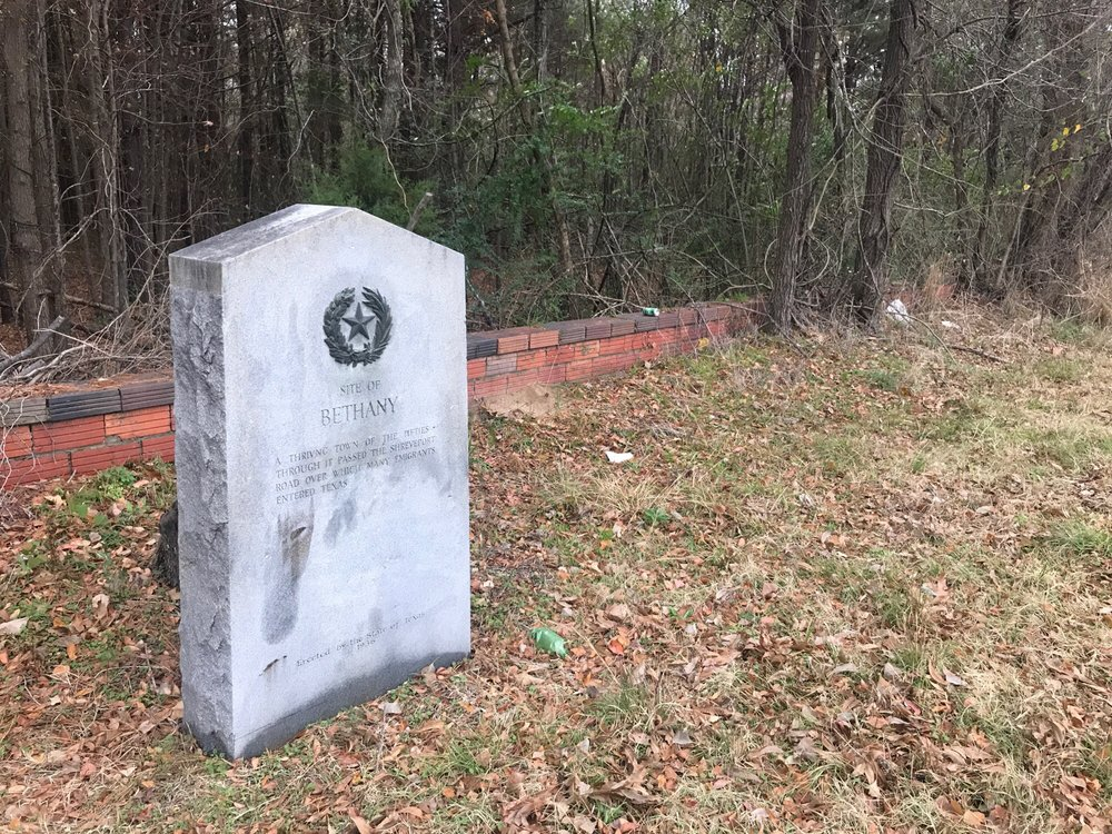 Site of Bethany: 11073 US 79, De Berry, TX