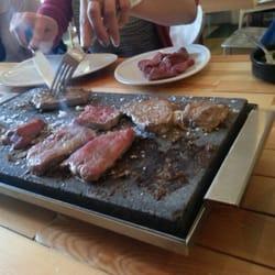 Photo Of Steak Edinburgh United Kingdom On Stones Cook It Yourself