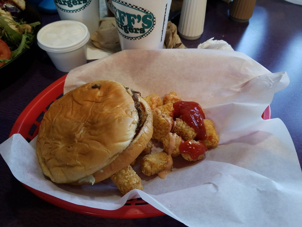 Food from Heff's Burgers