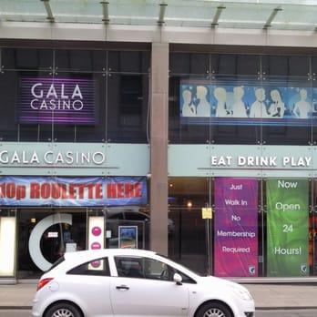 gala casino glasgow opening times